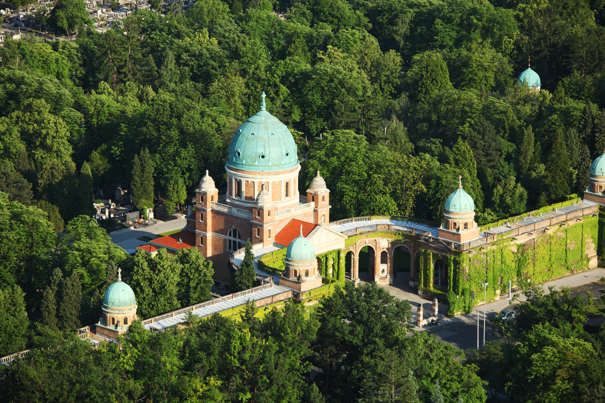 The Mirogoj Cemetery