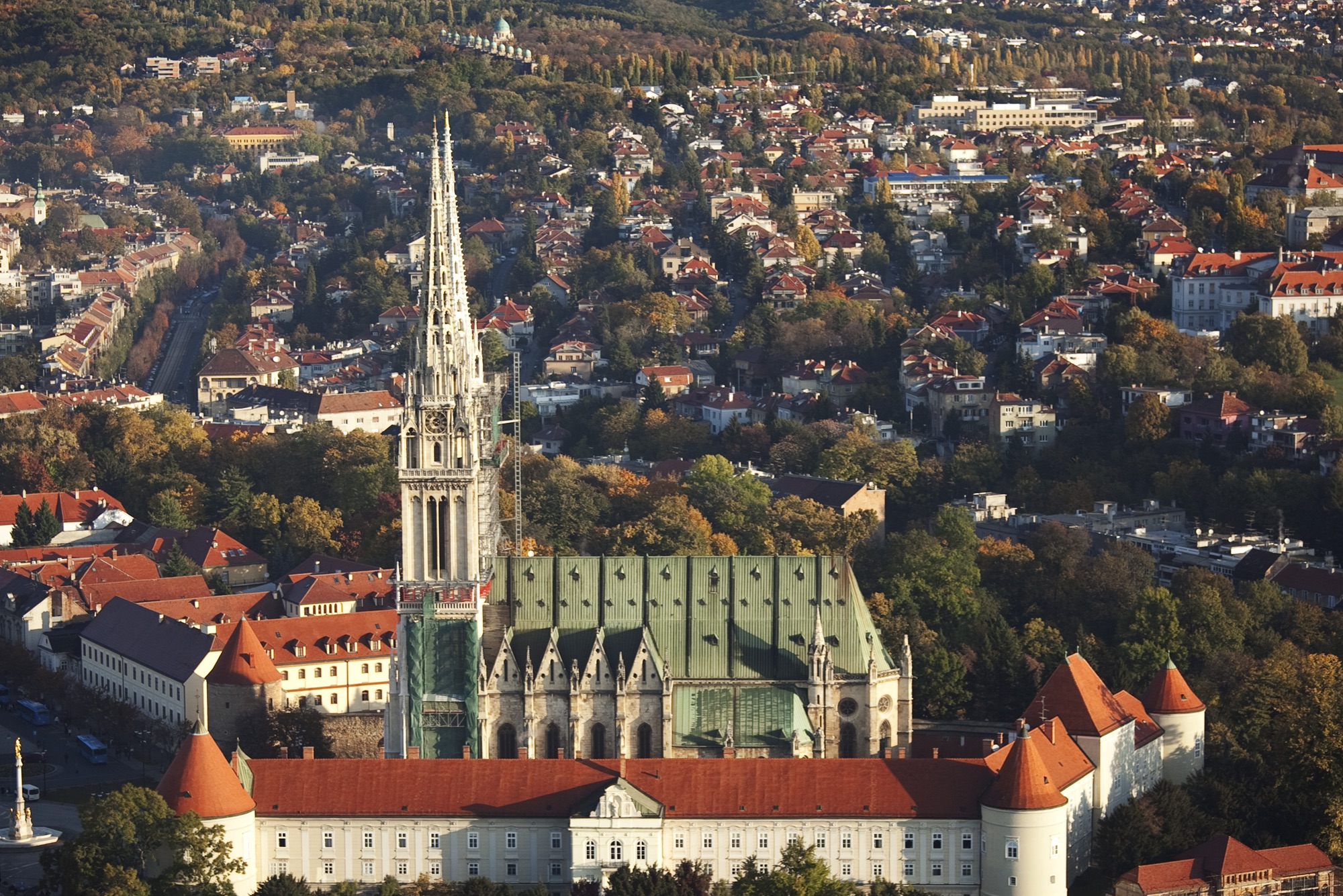 The Zagreb Cathedral Downtown Zagreb Apartments