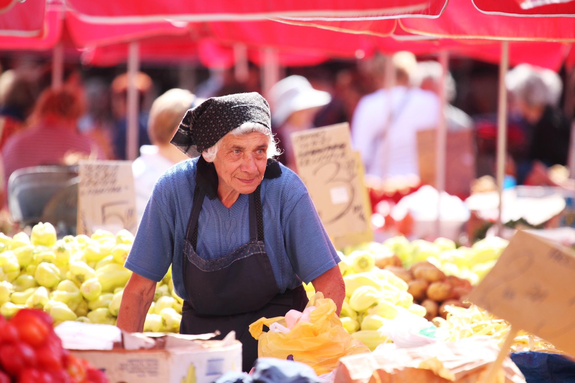 Zagreb's Dolac Market